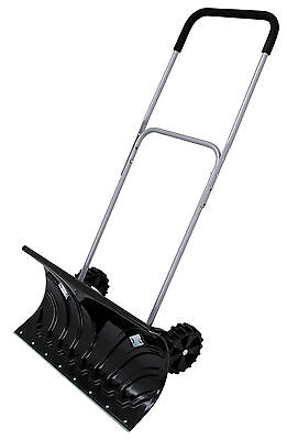 Snow pusher on Wheels / Snow shovel . With Aluminium Edge Free delivery CT2996