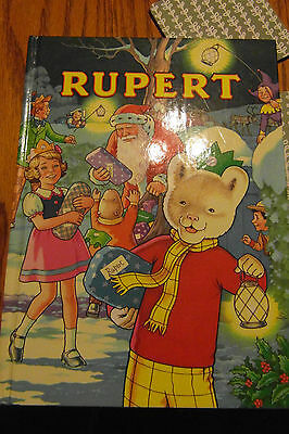 Childen Reading Book.rupert The Bear(Daily Express Annual 1992