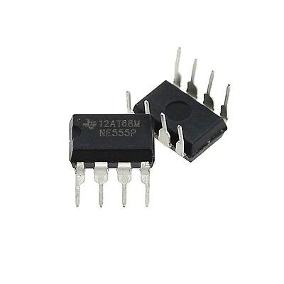 10/20/50/100 Pcs Ne555P Ne555 Dip-8 Single Bipolar Timers Ic