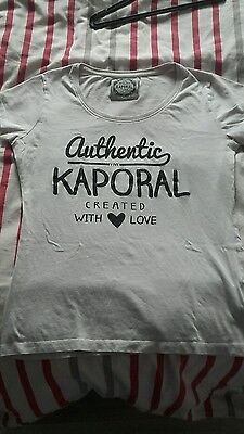 T shirt kaporal femme taille s