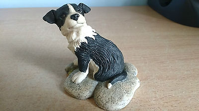 "Border Fine Arts James Herriot Collie Pup ""Gyp"" JH15. Clean & Perfect Condition."