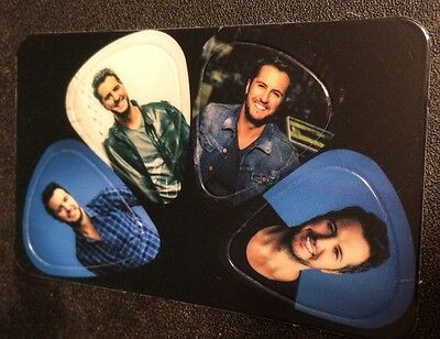 Luke Bryan Kick the Dust Up Tour Guitar Picks