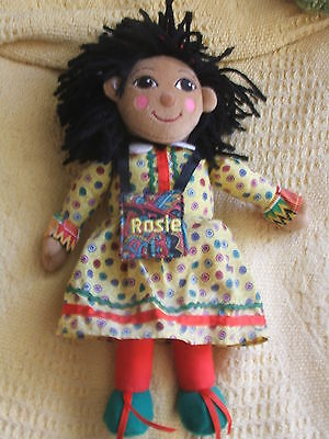 ROSIE rag doll, canal rosie, rosie and jim character
