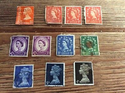 Stamps to collect GB