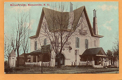 Kernersville NC Korner Folley 1909 Postcard