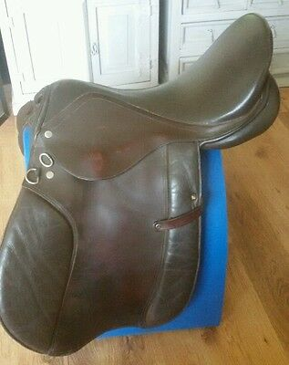 GP leather 17.5 saddle