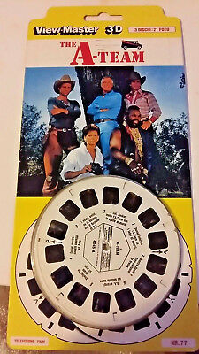 "View-Master 1983 "" The A-Team "" Nr.77 Stephen J. Cannell Productions (L-10)"