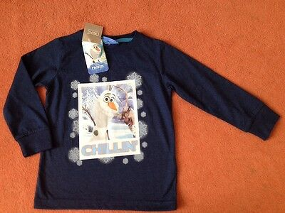 New Boys Frozen Top From NEXT Size 2-3 Years BNWT
