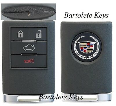 OEM Key Fob Entry Remote Driver #2 for 2008 2009 2010 Cadillac CTS DTS STS