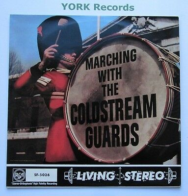 BAND OF THE COLDSTREAM GUARDS - Marching With The ... - Ex LP Record RCA SF 5026