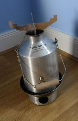 Kelly kettle, used once