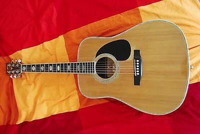 K.Yairi YW600 Vintage 1973 Acoustic Guitar Beautiful well played GREAT SOUND