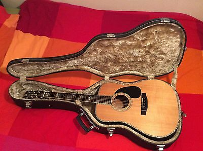 K.Yairi YW1000 Vintage 1978 Acoustic Guitar Beautiful JACARANDA hand made