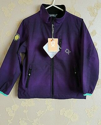 Color kids unisex children soft shell jacket water repellent size:6 years BNWT