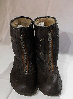 WW2 USAAF Type A6 flying boots