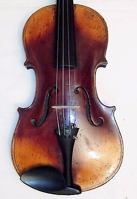Beautiful Antique 4/4 German copy of N Amatis violin new set up new case & bow
