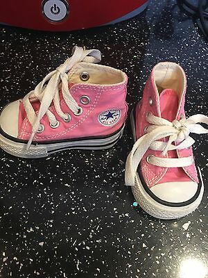 Baby Converse Boots Size 2 Hard Bottoms - BNWOB