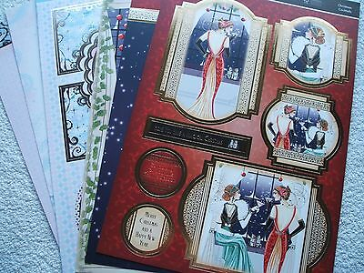 Hunkydory cardstock.( Christmas with a difference)