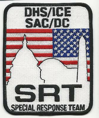 DHS/ICE SAC/DC SRT Special Response Team  Federal  Fed