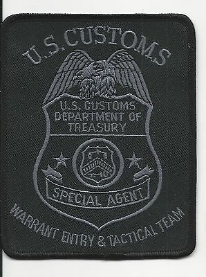 US Customs Warrant Entry & Tactical Team Special Agent   Federal  Fed