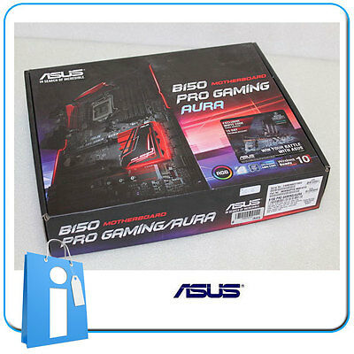 Placa base ATX ASUS B150 PRO GAMING / AURA Socket 1151 DDR4 con Accesorios
