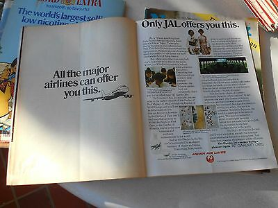 JAL Japan  Airways advert Werbung Newsweek 1972 April very rare!