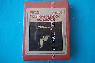 "David Bowie ""stationtostation"" Mc Stereo 8 Rca  Aps1 1327 Anno 1976 Sigillata-Se"