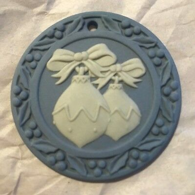 Wedgwood Annual Ornament ~ 1999 Baubles ~ Blue Jasper  ~ New
