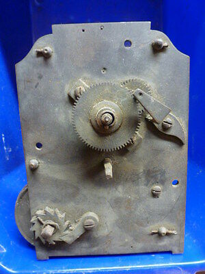 Quality English fusee dial clock movement for spares - parts