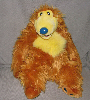 Authentic Disney Store plush stuffed SMALL BEAR in the Big Blue House 16 inches