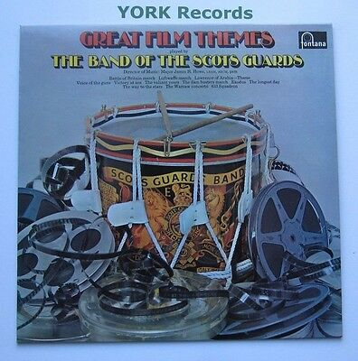 BAND OF THE SCOTS GUARDS - Great Film Themes - Ex Con LP Record Fontana 6309 012