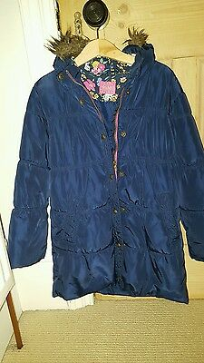 Girls joules coat age 6