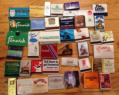 Job Lot Of 40 Various Match Sleeves/boxes
