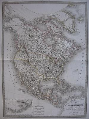 1830 - LAPIE - Map NORTH AMERICA  Pre Rep TEXAS