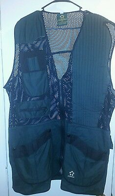 CHIMERE Size 2XL Shooting Vest Skeet Trap Clay Pigeons Shotgun Competition
