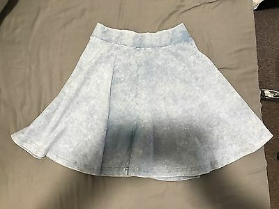 New Look 915 Generation Light Blue Denim Skirt Age 12-13