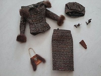 Early Vintage Barbie - Barbie HTF 1965 Saturday Matinee Outfit Almost Complete