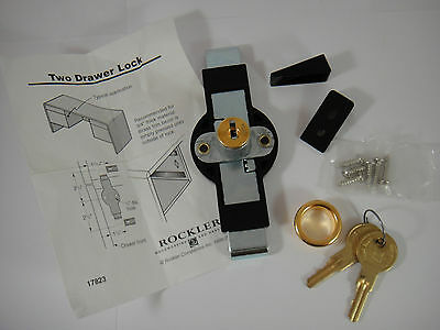 Rockler Woodworking and Hardware Two Drawer Lock 17823