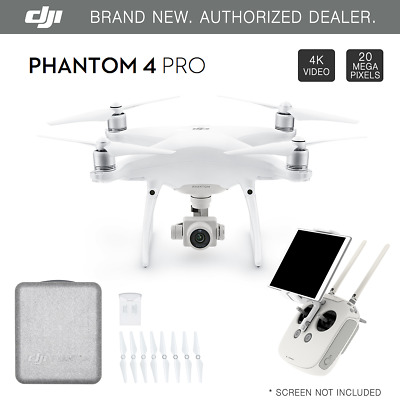 DJI Phantom 4 PROFESSIONAL GPS QuadCopter Drone 4K 20 Megapixel HD Camera - NEW