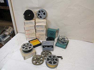 Lot of 19 Vintage 16mm Film Reels , 3 1/2 Inch  22994