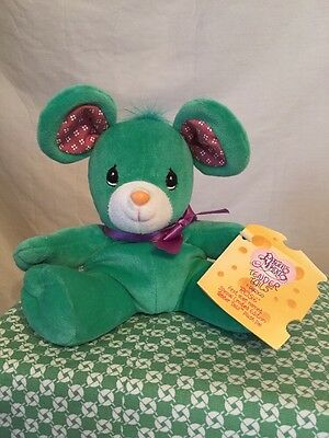 1998 Rosie The Mouse Precious Moments Plush Enesco Tags Tender Tails