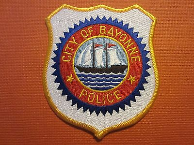 Collectible New Jersey Police Patch Bayonne New