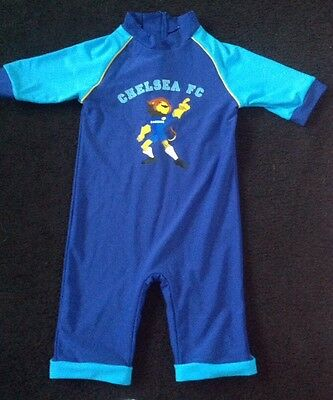 18-24 months Chelsea boys UV sunsuit with Lion to front