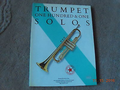TRUMPET--101 SOLOS- -V'Good--96 pages--Easy to play--1986