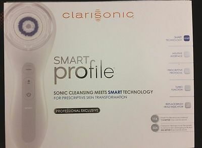 New CLARISONIC SMART Profile Sonic Facial Cleansing System Face & Body Kit UK