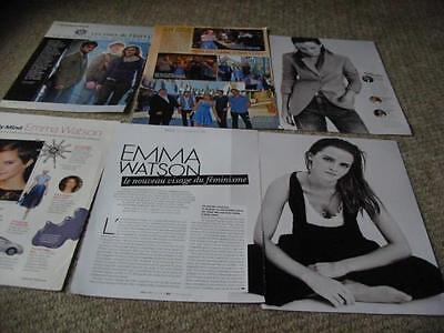 Emma Watson French Us Clippings