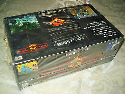 Middle Earth The Wizards Trading Card Game Booster Display Booster Box  SEALED