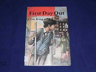 Clive King ~ First Day Out ~ Childrens Book ~ Jacqueline Atkinson
