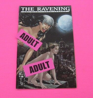 THE RAVENING # 3 Comic REGULAR ADULT COVER 2016 BOUNDLESS SEXY