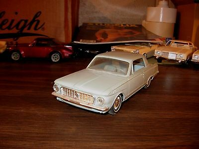 1963 Plymouth Valiant Signet 800 2-dr HT 1/25 scale AMT friction promo model